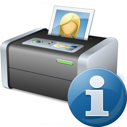 Printer 3 Information Icon