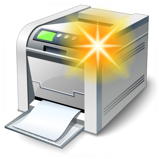 Printer New Icon
