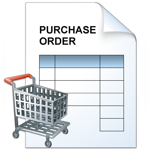 Purchase Order Cart Icon