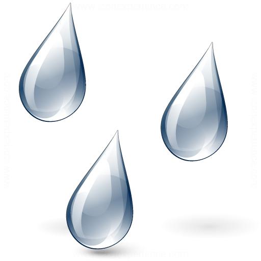 Rain Drops Icon