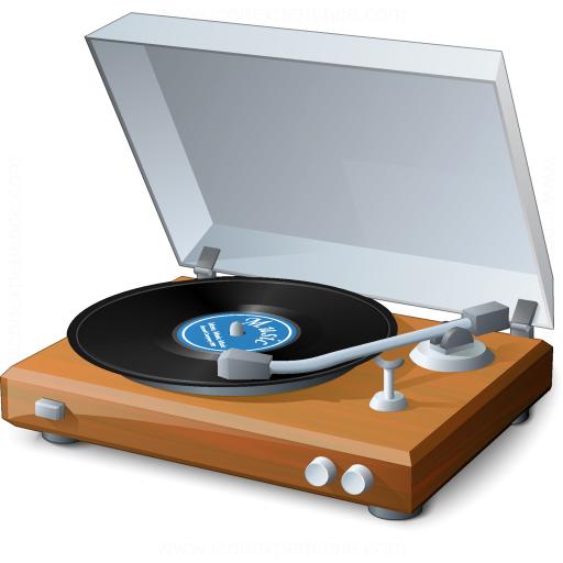 Record Player Icon
