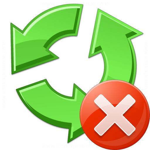 Recycle Error Icon