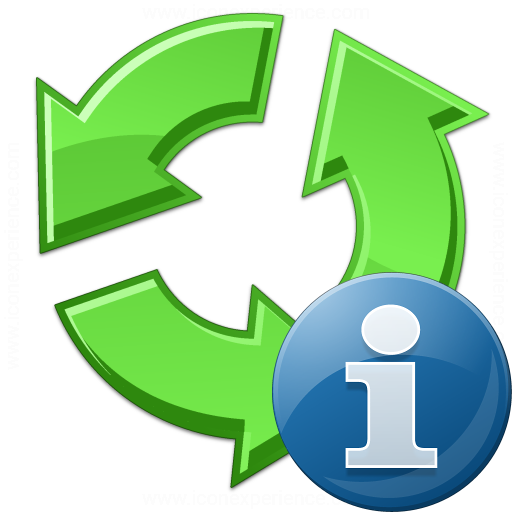 Recycle Information Icon
