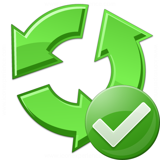 Recycle Ok Icon