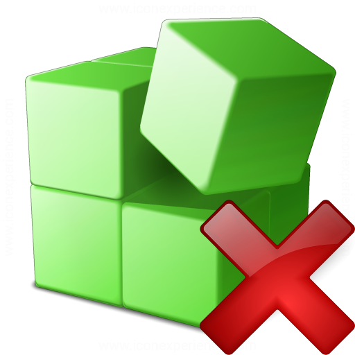 Registry Delete Icon