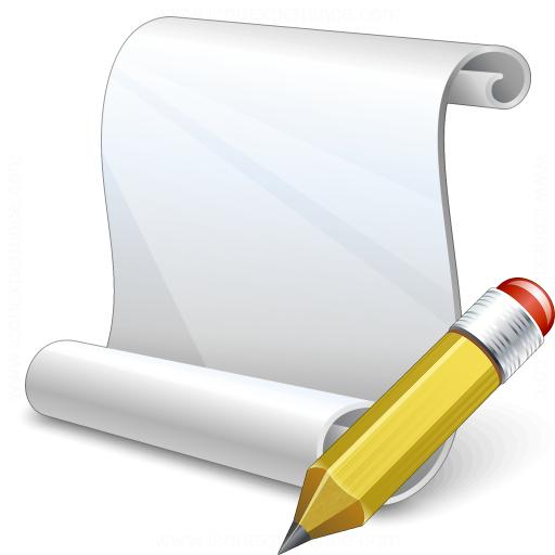 Scroll Edit Icon