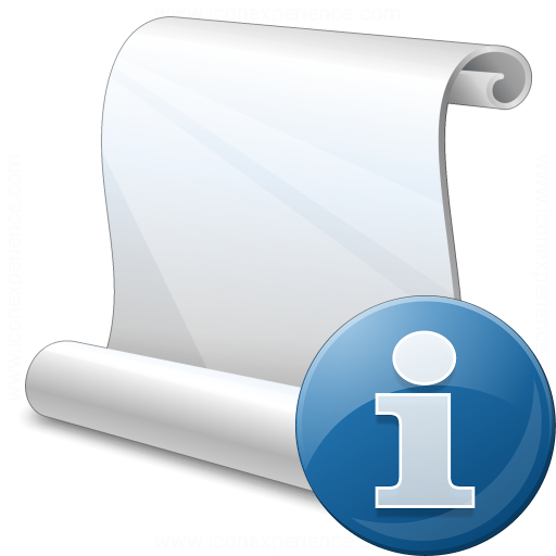Scroll Information Icon