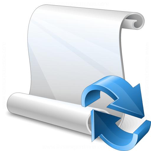 Scroll Refresh Icon