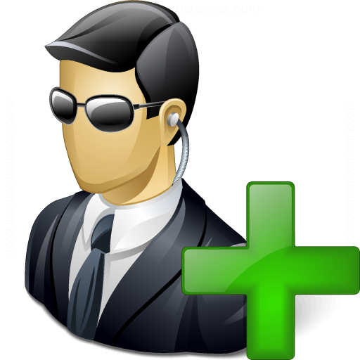 Security Agent Add Icon