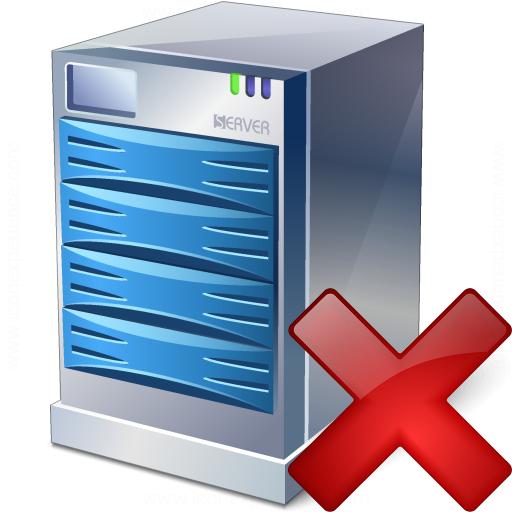 Server Delete Icon