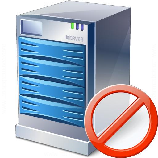 Server Forbidden Icon