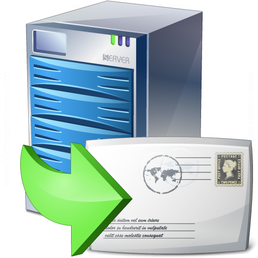 Server Mail Download Icon
