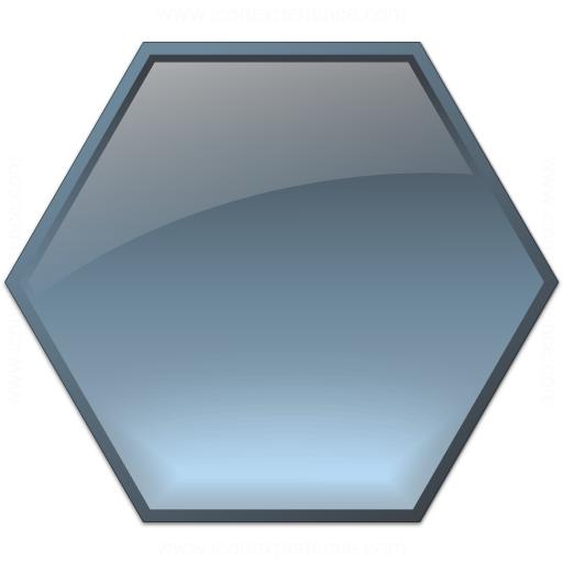 Shape Hexagon Icon