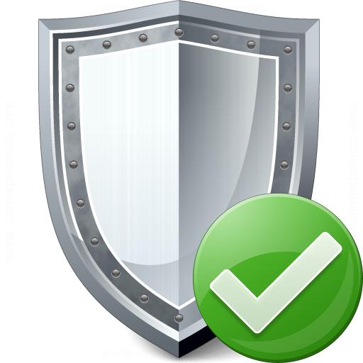 Shield Ok Icon