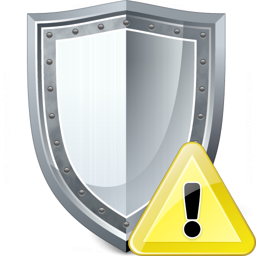 Shield Warning Icon