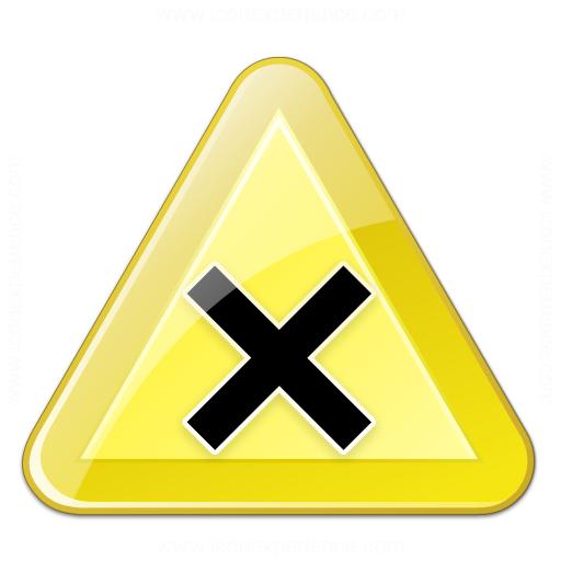 Sign Warning Harmful Icon
