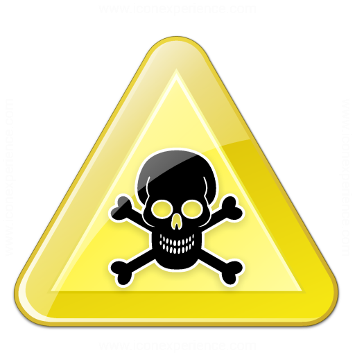 Sign Warning Toxic Icon