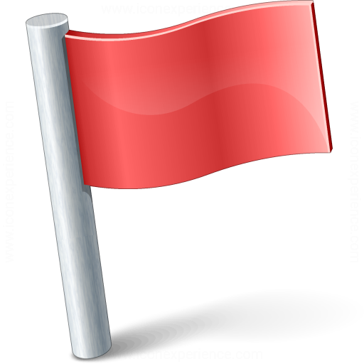 Signal Flag Red Icon