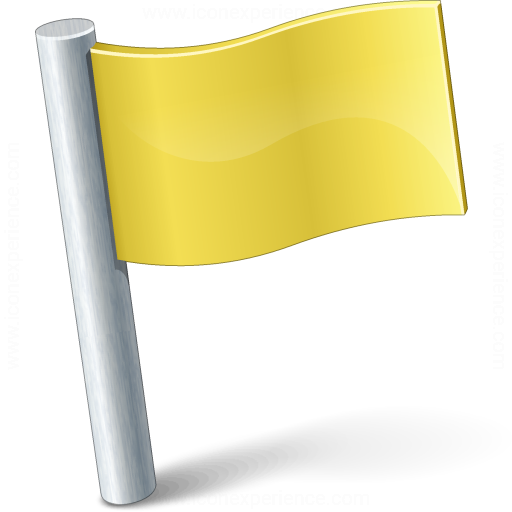Signal Flag Yellow Icon