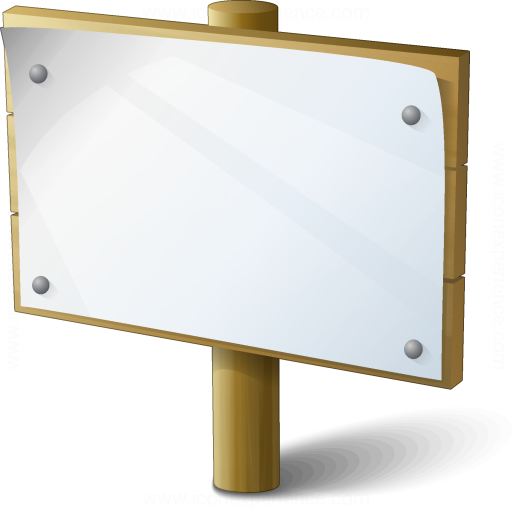 Signboard Empty Icon