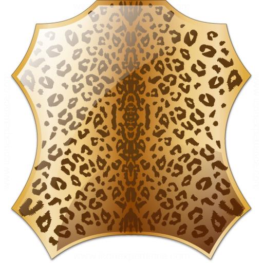 Skin Leopard Icon