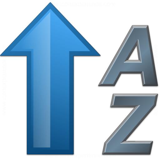 Sort Az Ascending 2 Icon