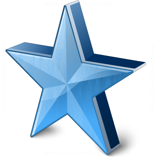Star 2 Blue Icon