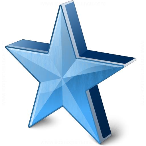 Star 2 Blue Icon
