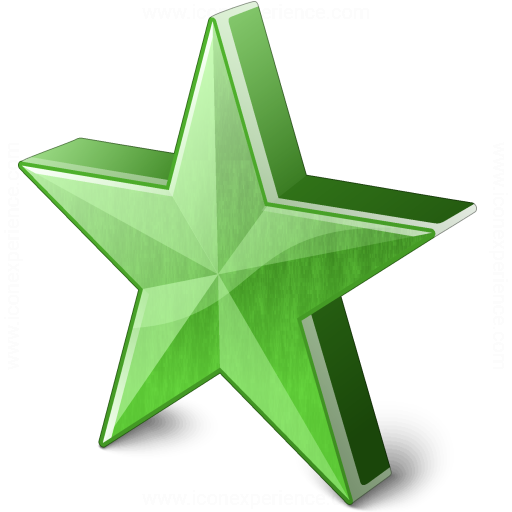 Star 2 Green Icon