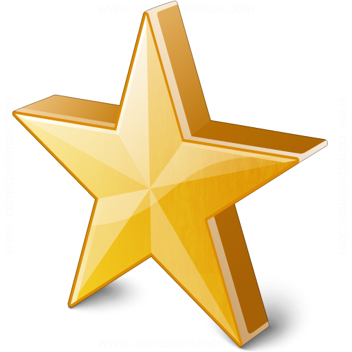Star 2 Yellow Icon