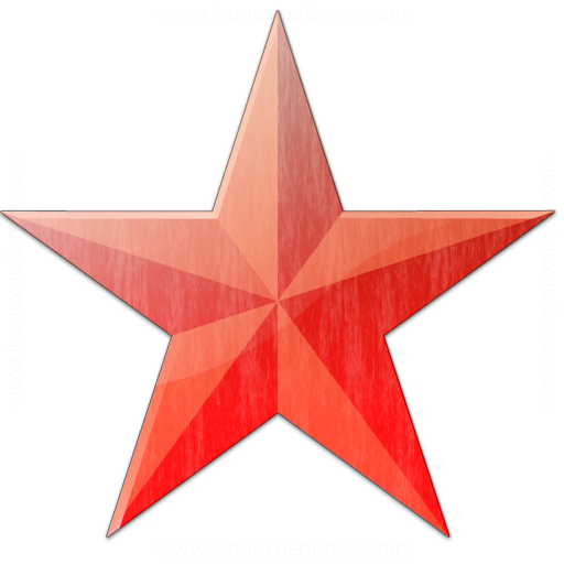 Star Red Icon