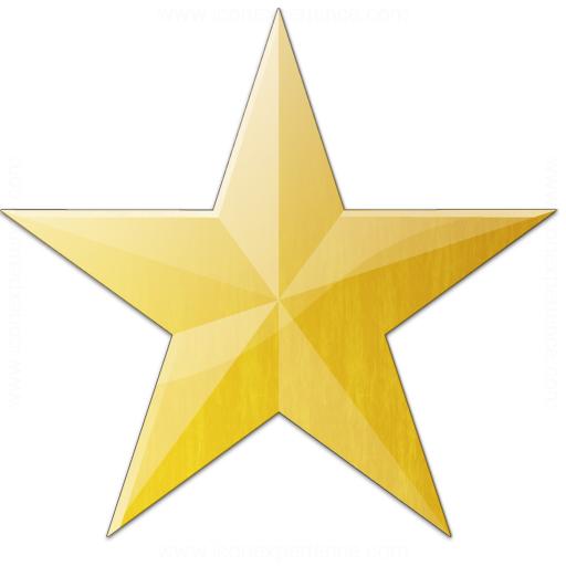 Star Yellow Icon