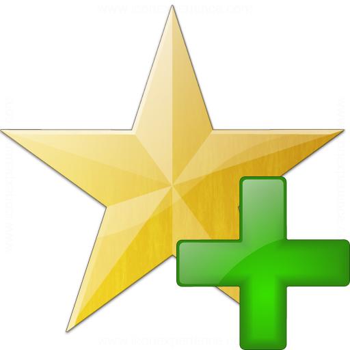 Star Yellow Add Icon