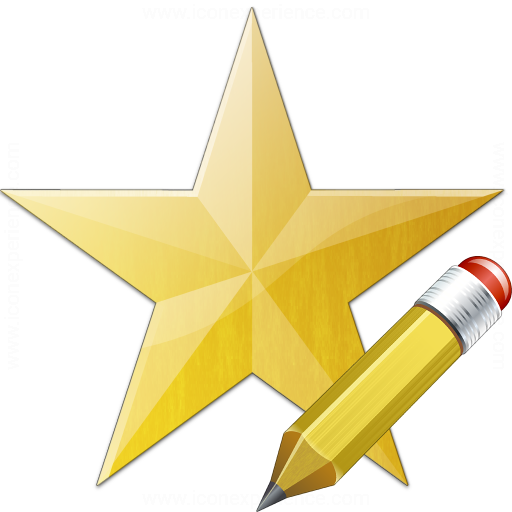 Star Yellow Edit Icon