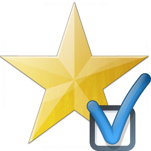 Star Yellow Preferences Icon