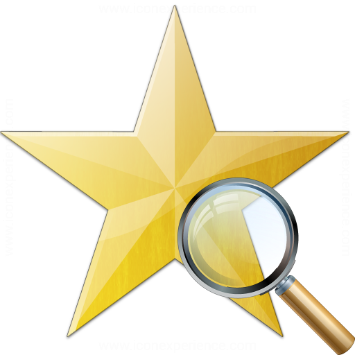 Star Yellow View Icon