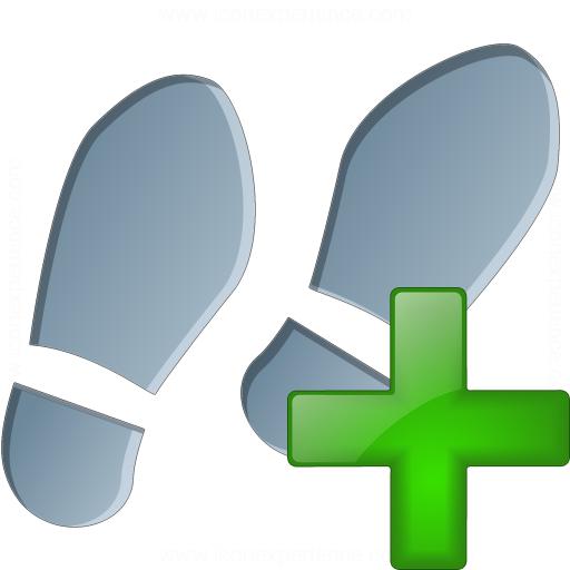 Step Add Icon
