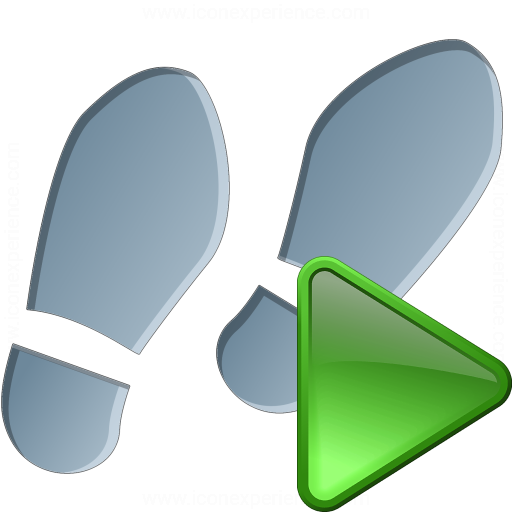 Step Run Icon