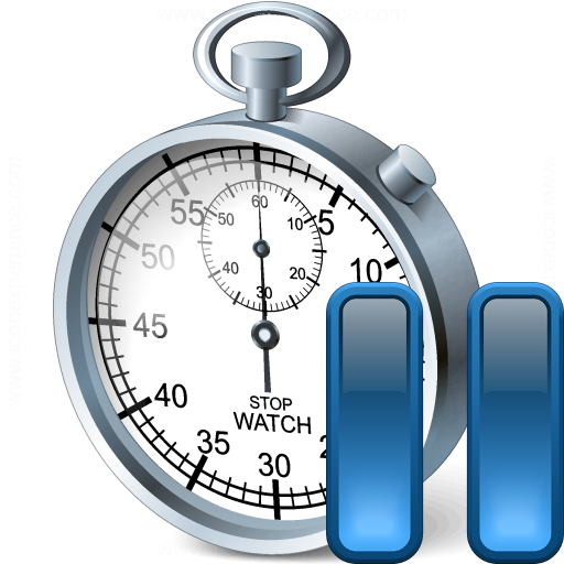 Stopwatch Pause Icon