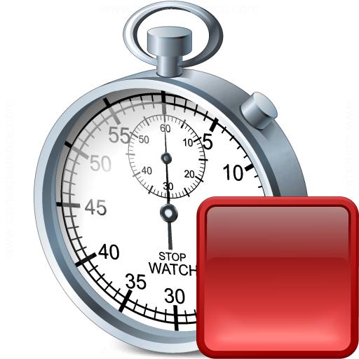 Stopwatch Stop Icon