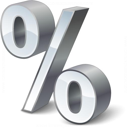 Symbol Percent Icon