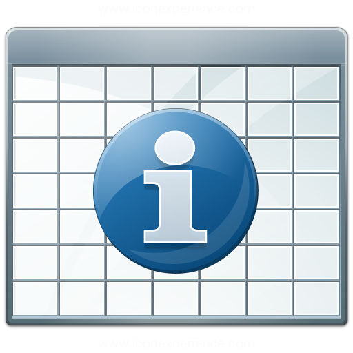 Table 2 Information Icon