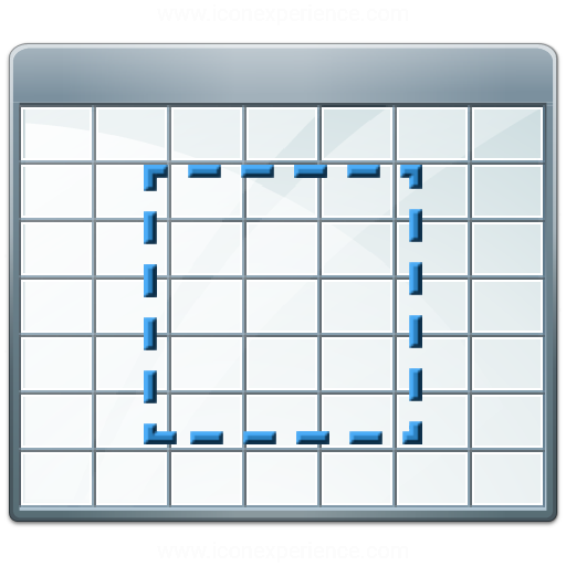 Table 2 Select Icon