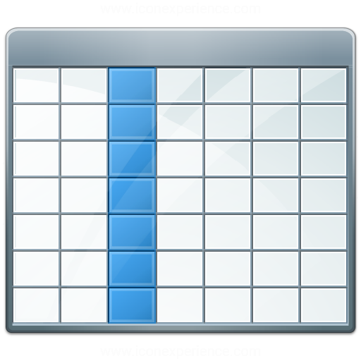 Table 2 Selection Column Icon