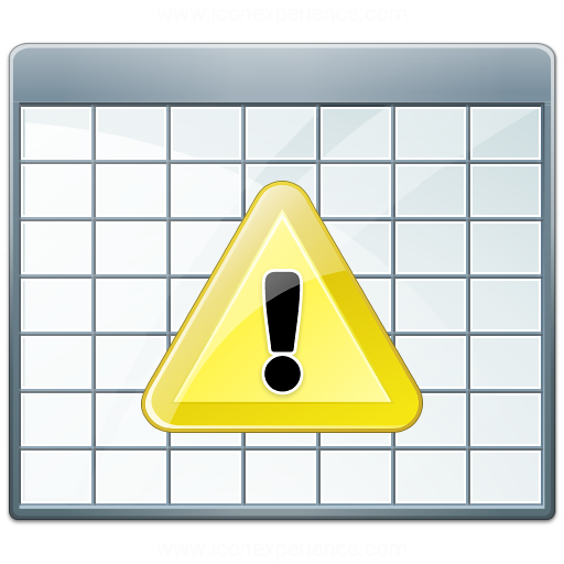 Table 2 Warning Icon