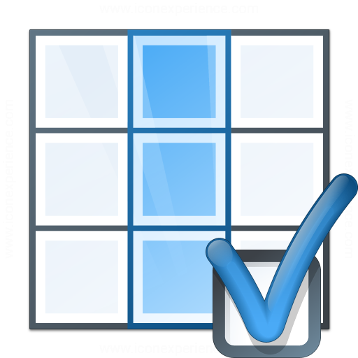 Table Column Preferences Icon