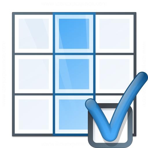 Table Column Preferences Icon