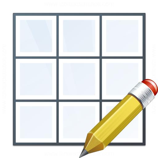 Table Edit Icon