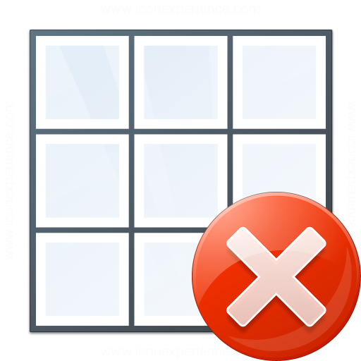 Table Error Icon