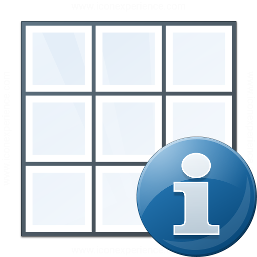 Table Information Icon